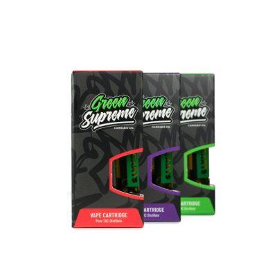 Buy Green Supreme Vape Cartridges UK