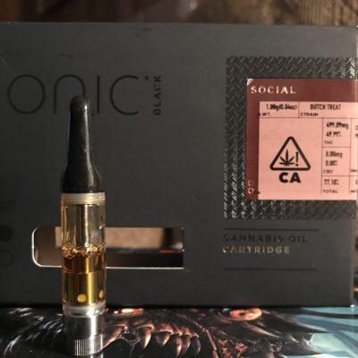 IONIC cannabis Oil Cartridge UK