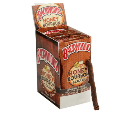 HONEY BOURBON BACKWOODS CIGARS UK 40 COUNT
