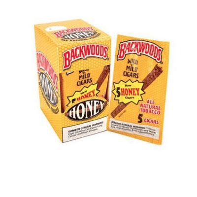 BUY HONEY NATURAL BACKWOODS CIGARS UK 8 PACKS OF 5 (40 COUNT)