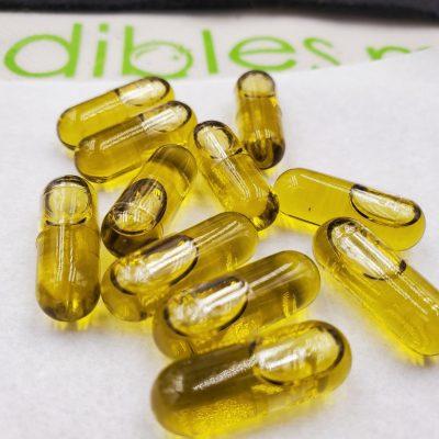 Marijuana Capsules and Tablets