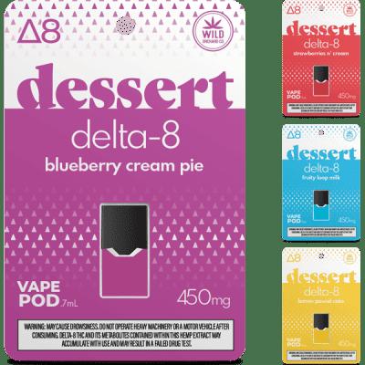 Buy Dessert Delta-8 Vape Pod 450mg UK